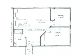 409 Main Street Ext floorplan