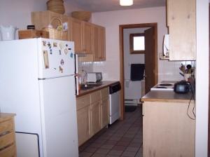 207 Irish Settlement kitchen