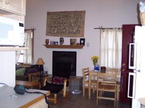 207 Irish Settlement living room as seen from kitchen