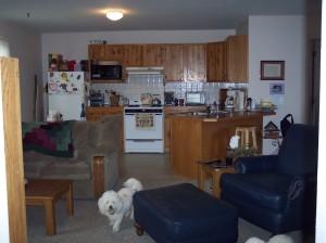 409 Main Street interior from bedroom